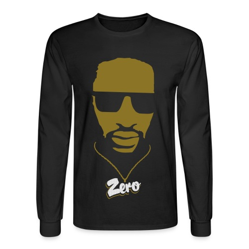 G-ZERO GOLD & SPARKLE PENDANT - Men's Long Sleeve T-Shirt