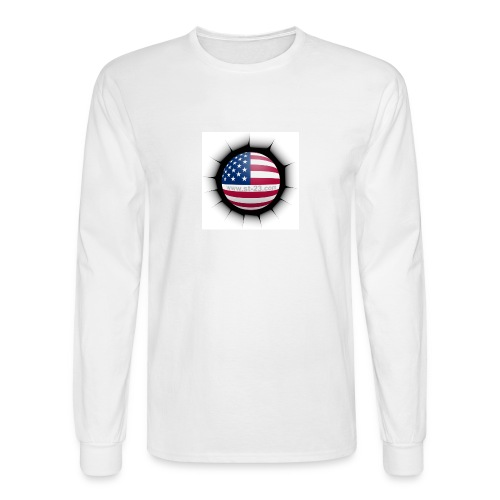 USA flag - Men's Long Sleeve T-Shirt