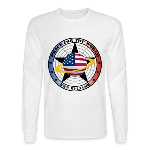 Peace For The World - Men's Long Sleeve T-Shirt