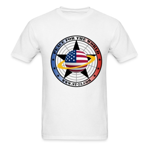 peace for the world - Men's T-Shirt