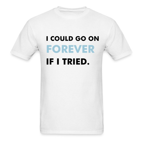 I could go on...Budget Tee - Men's T-Shirt