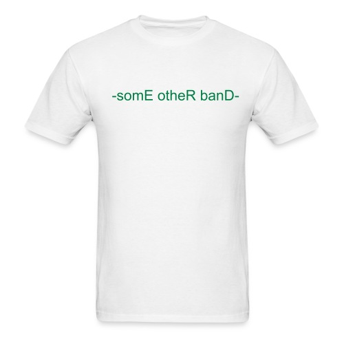 Basic Green T - Men's T-Shirt