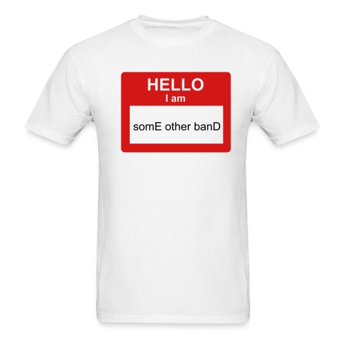 Nametag T - Men's T-Shirt