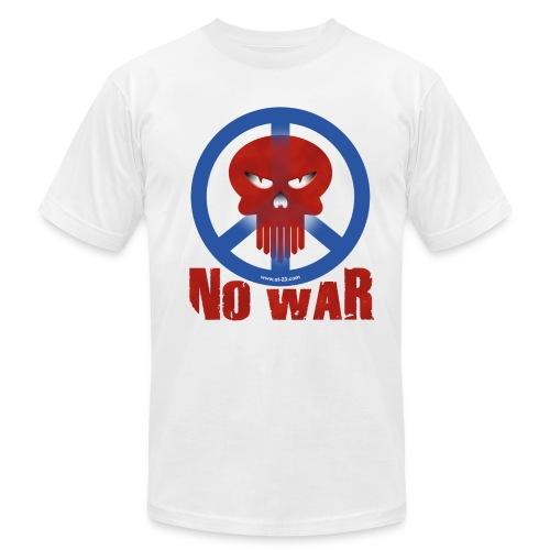 no war skull t-shirt - Men's  Jersey T-Shirt