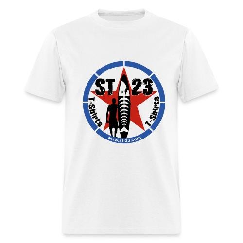 st23 logo surf - Men's T-Shirt
