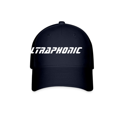 Baseball Cap - A high quality ballcap in navy blue with Ultraphonic text logo in white.