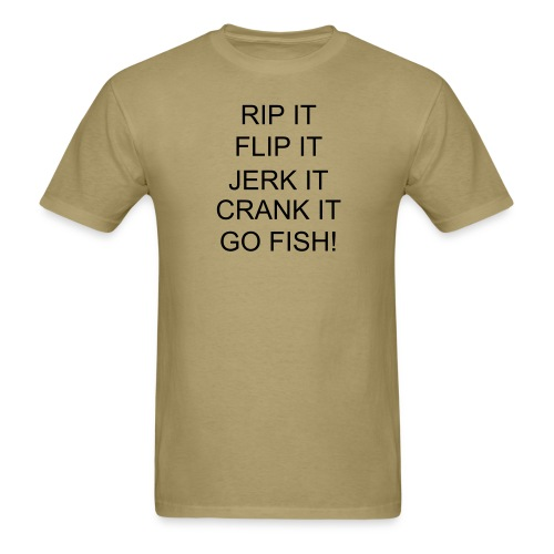 GO FISH! LIGHTWEIGHT T - Men's T-Shirt