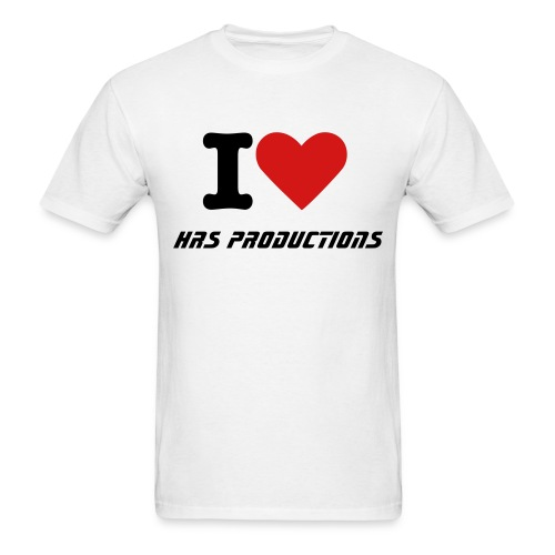 I heart HRS TS (White) - Men's T-Shirt