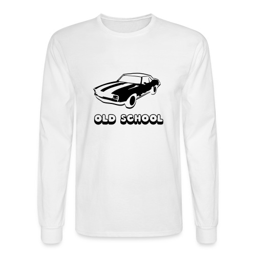 Old School - Men's Long Sleeve T-Shirt