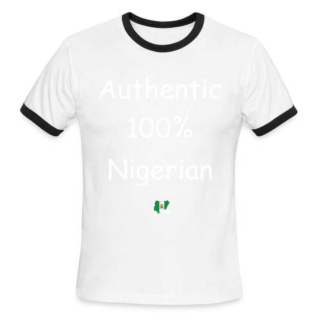 8d49dced Authentic Nigerian Collection | Authentic Nigerian Ringer Tee Design ...