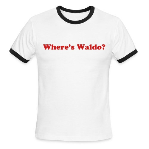 Waldo? - Men's Ringer T-Shirt
