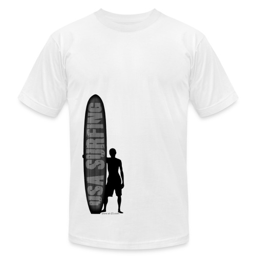 USA surfing - Men's Fine Jersey T-Shirt