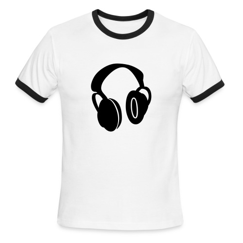 Men's Ringer T-Shirt - For the guy trying (or succeeding) in making a cool statement.