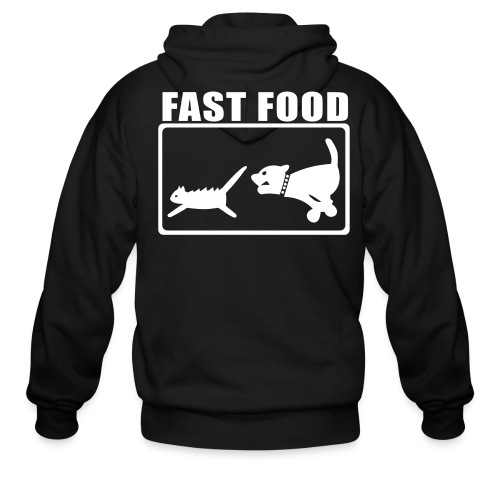 Fast food truth - Men's Zip Hoodie