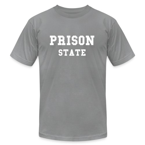 PRISON STATE - Men's Fine Jersey T-Shirt