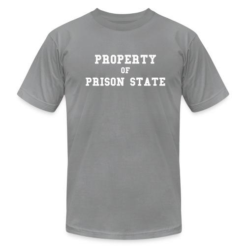 PROPERTY OF PRISON STATE - Men's Fine Jersey T-Shirt