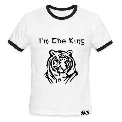 GS Im The King - Men's Ringer T-Shirt