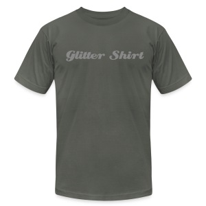 Glitter Shirt [GLITTER] - Men's T-Shirt by American Apparel