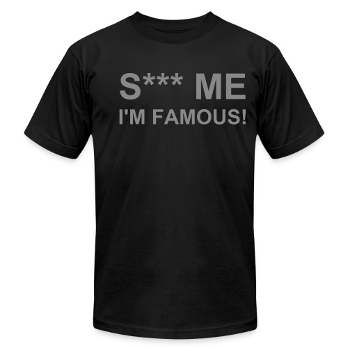 S*** ME Black-Silver - Men's Fine Jersey T-Shirt