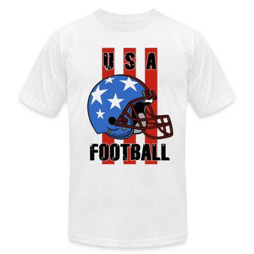 football t-shirt - Men's  Jersey T-Shirt