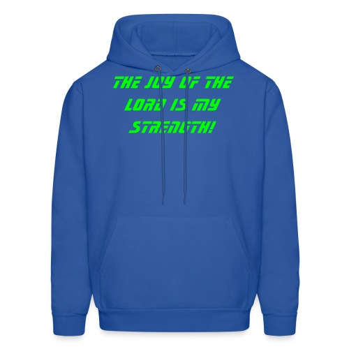 The Joy of the Lord - Men's Hoodie