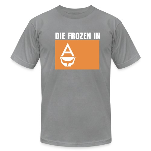 die frozen in Antarctica - Men's Fine Jersey T-Shirt