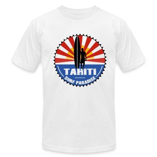 Tahiti surfer - Men's Fine Jersey T-Shirt