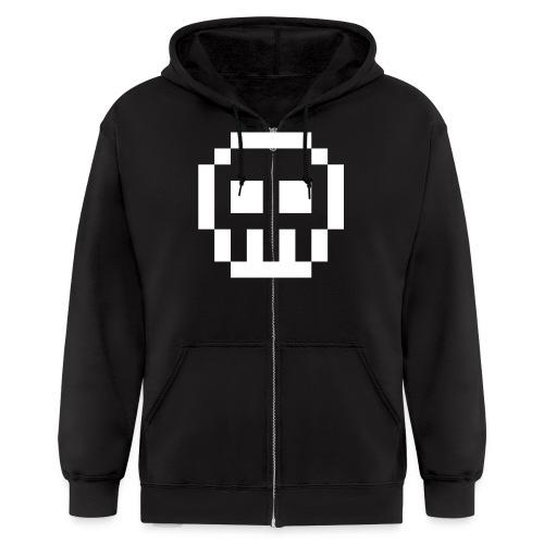 Goth Geek  - Men's Zip Hoodie