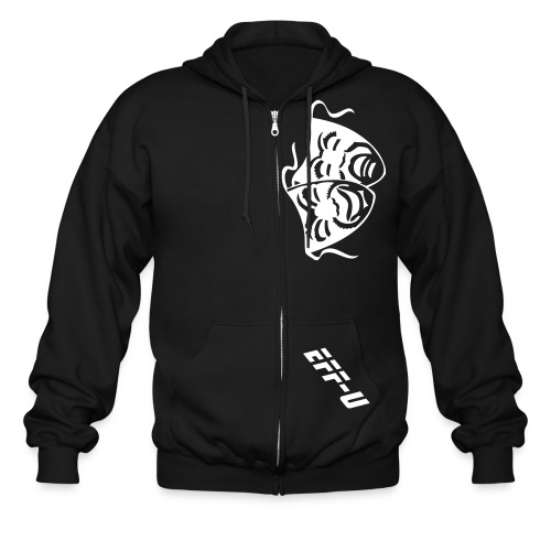 The Punchline - Men's Zip Hoodie