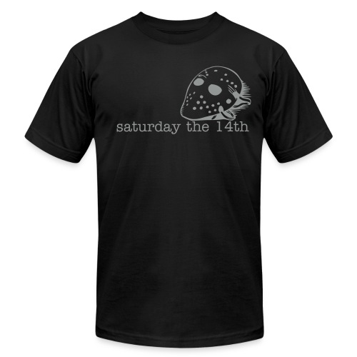 Saturday th 14th - Men's Fine Jersey T-Shirt