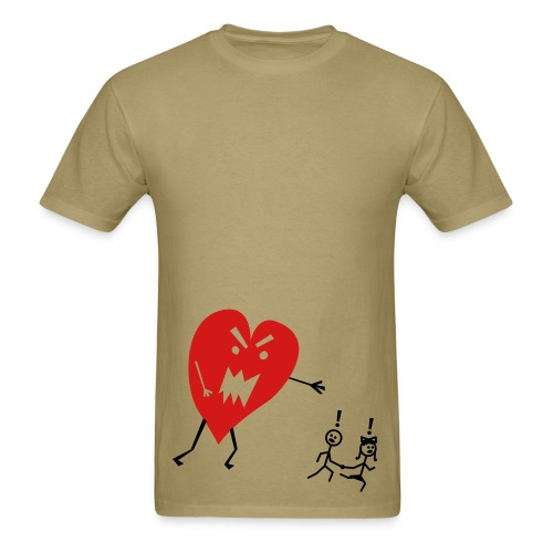 Love is funny - Men's T-Shirt