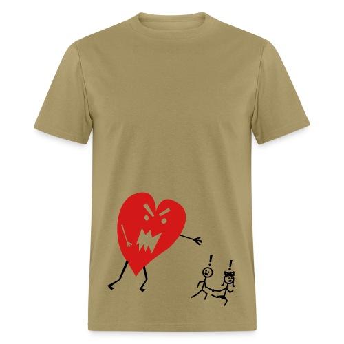 Love is funny - Men's T-Shirt