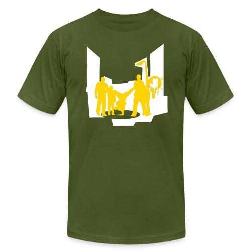 breakdance - Men's Fine Jersey T-Shirt