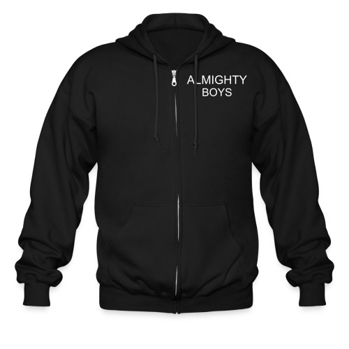 HARD OUT HERE FOR A RAPPER - Men's Zip Hoodie