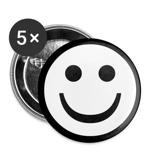 Paul's Opinion Happy Face Buttons - Large Buttons