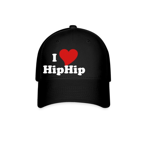 Baseball Cap - Otto Flex Pro Style Baseball Cap with I love HipHop