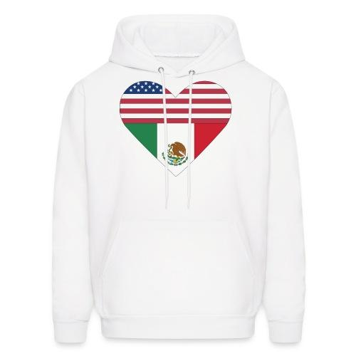 Mexican American Love - Men's Hoodie