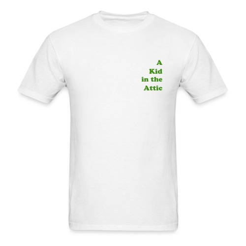 a Kid in the Attic Tee - Men's T-Shirt