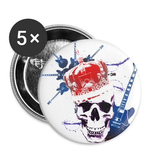 rock - Buttons small 1'' (5-pack)