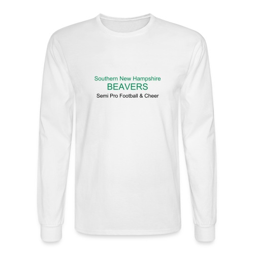 Mens White - Men's Long Sleeve T-Shirt
