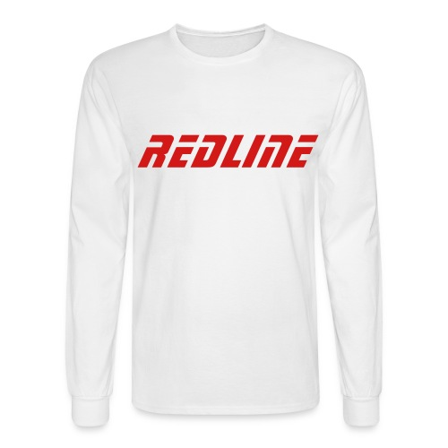 DVine Long Sleeve White and Red - Men's Long Sleeve T-Shirt