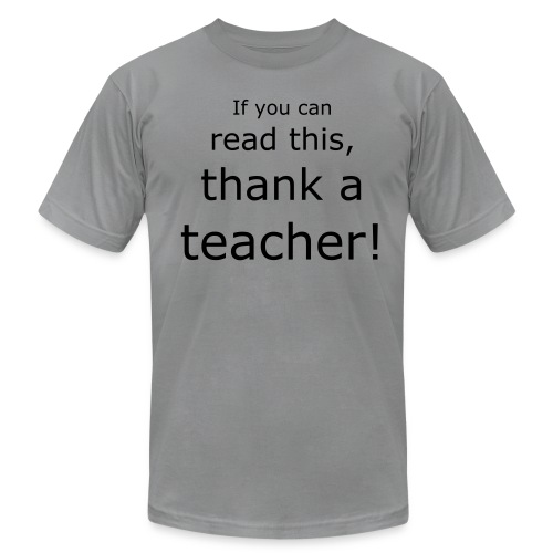 Thank a... T - Men's  Jersey T-Shirt