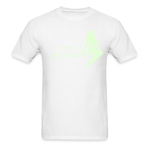 Glow in the Dark Off! T - Men's T-Shirt