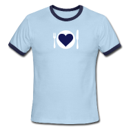 T-Shirts ~ Men's Ringer T-Shirt ~ [heartmeal]