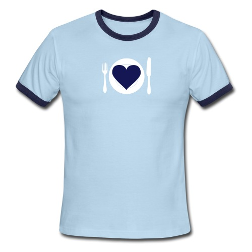 [heartmeal] - Men's Ringer T-Shirt