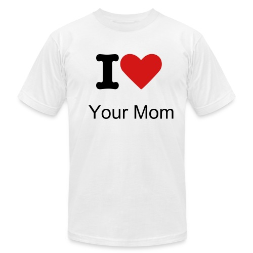 Funny Shirt About Mom - Men's Fine Jersey T-Shirt