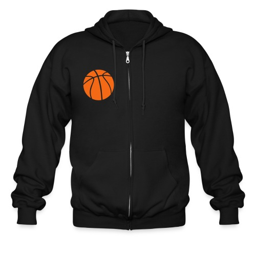basketball - Men's Zip Hoodie