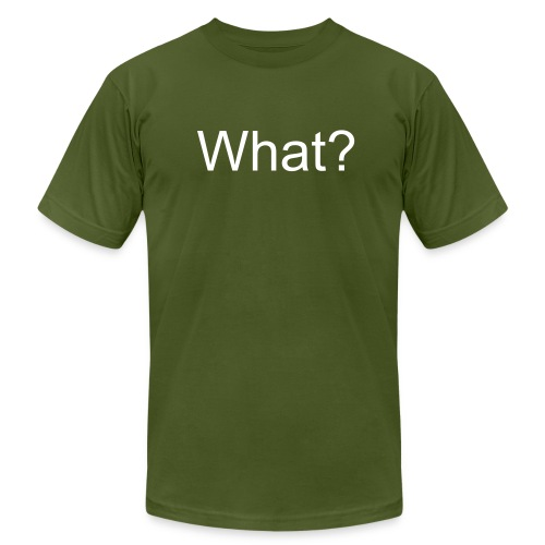 The What Shirt - Men's  Jersey T-Shirt