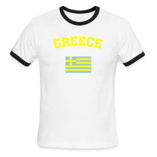 Greece - Men's Ringer T-Shirt