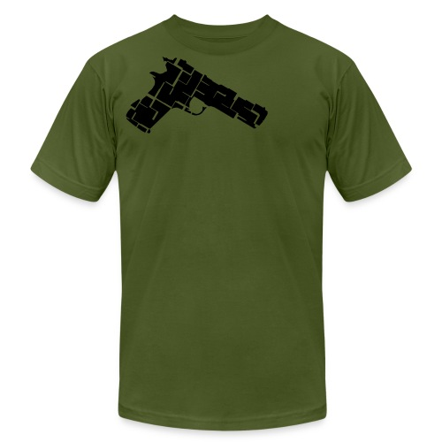Shoot Me in the Heart - Men's Fine Jersey T-Shirt